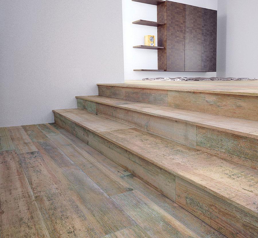 Piastrelle effetto legno in gres n.28