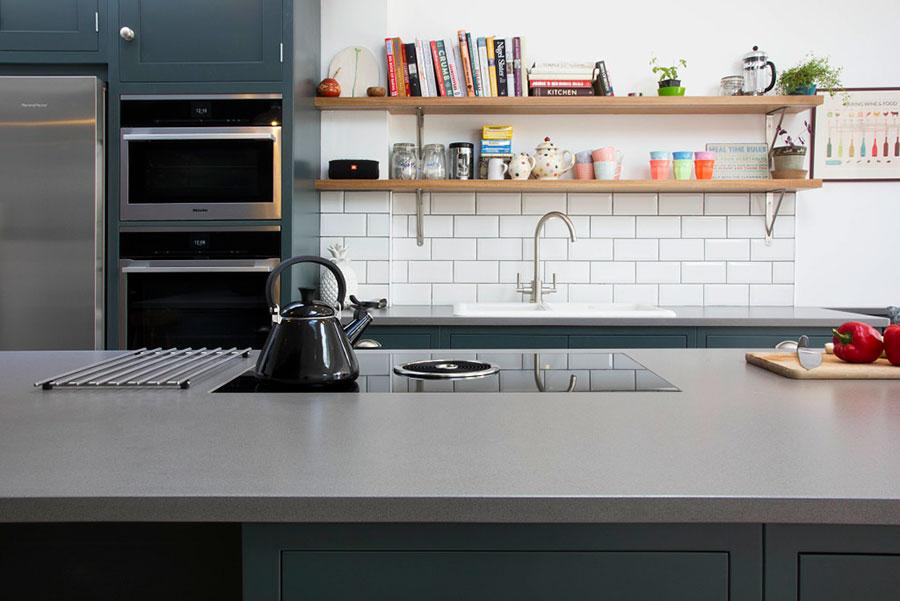 Modello di top per cucina in quarzo n.02