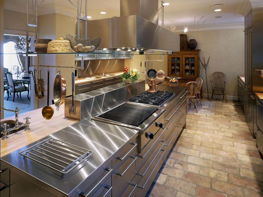 Top per cucine davvero particolari creati con diversi materiali n.12