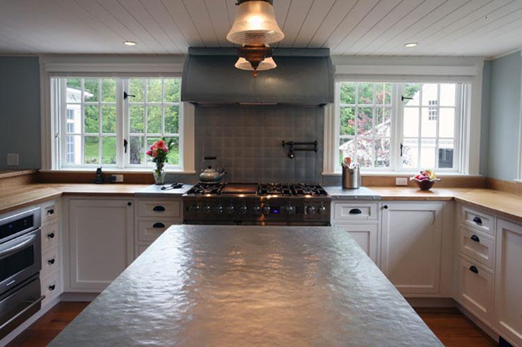 Top per cucine davvero particolari creati con diversi materiali n.14