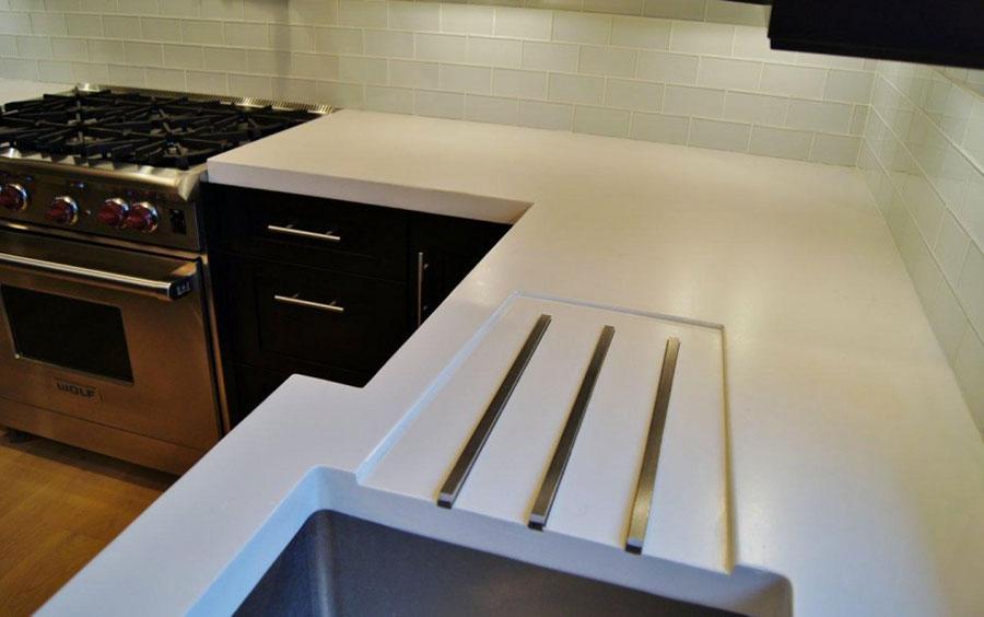 Top per cucine davvero particolari creati con diversi materiali n.22