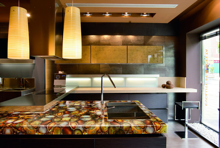 Bellissimi e Particolari Top per Cucine in Diversi Materiali  MondoDesign.it