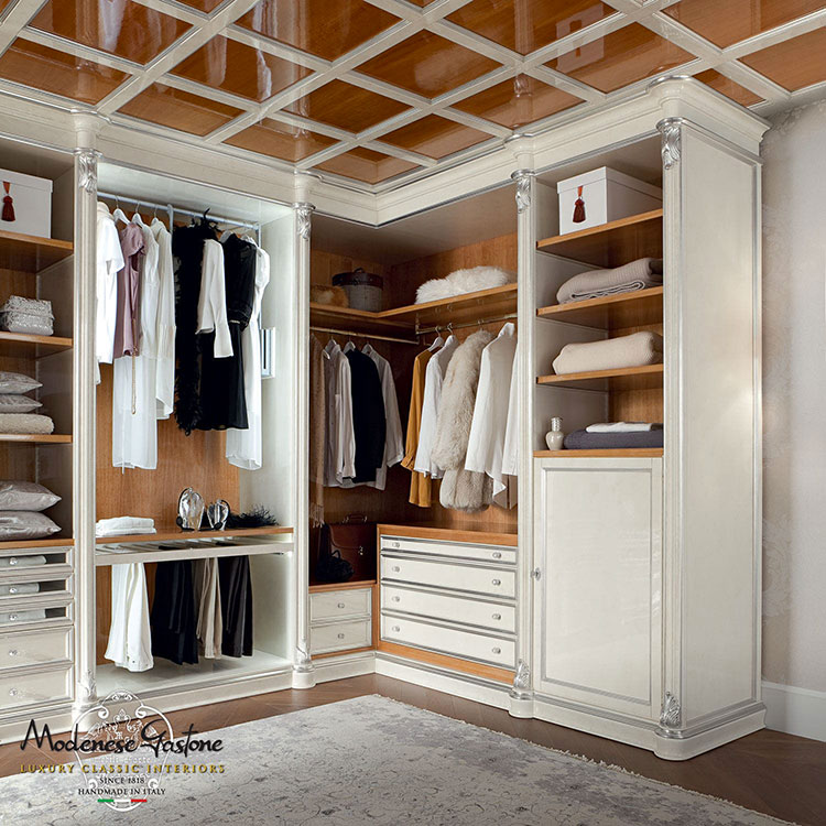 25 modelli di cabina armadio angolare for Alloggio ad ovest delle cabine