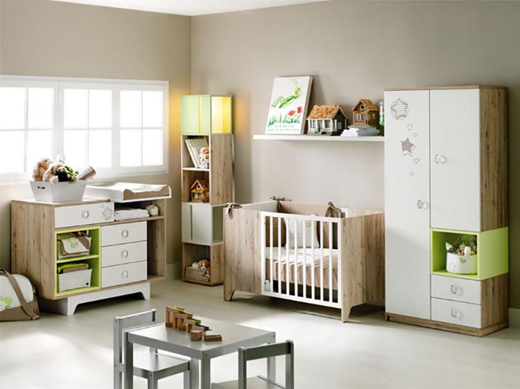 20 camerette complete per neonati carine ed eleganti for Muebles infantiles ros