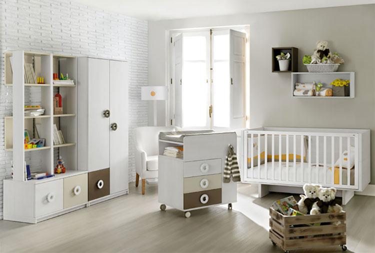 Modello di cameretta completa per neonati n.03