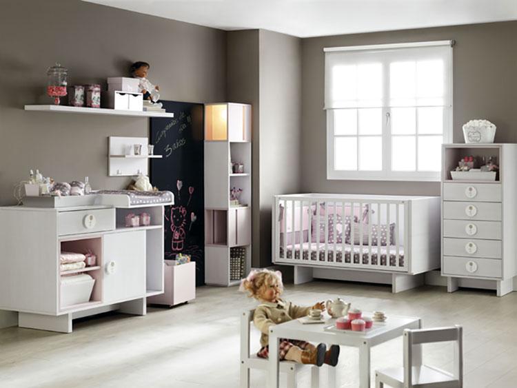 Modello di cameretta completa per neonati n.04