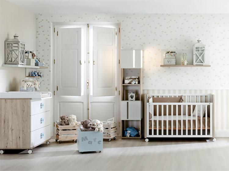 Modello di cameretta completa per neonati n.05
