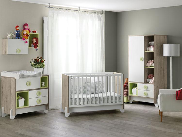 Modello di cameretta completa per neonati n.06