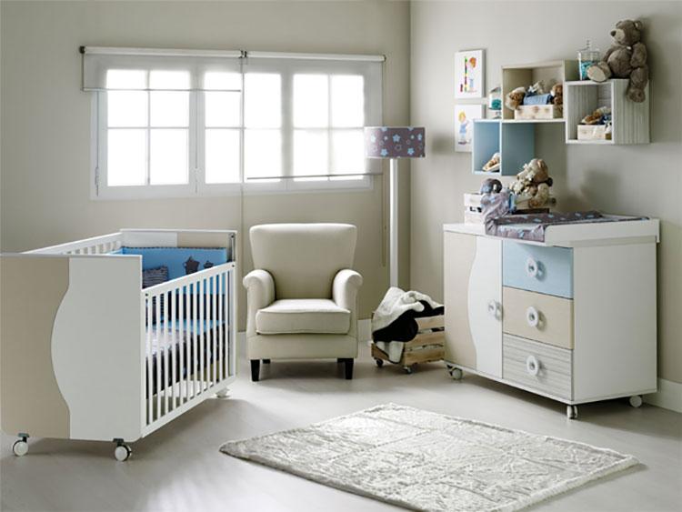 Modello di cameretta completa per neonati n.08