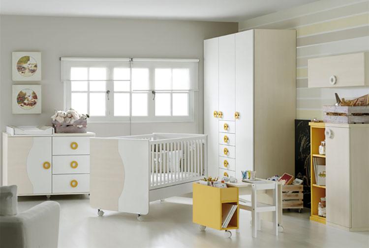 Modello di cameretta completa per neonati n.09