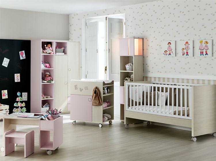 Modello di cameretta completa per neonati n.10