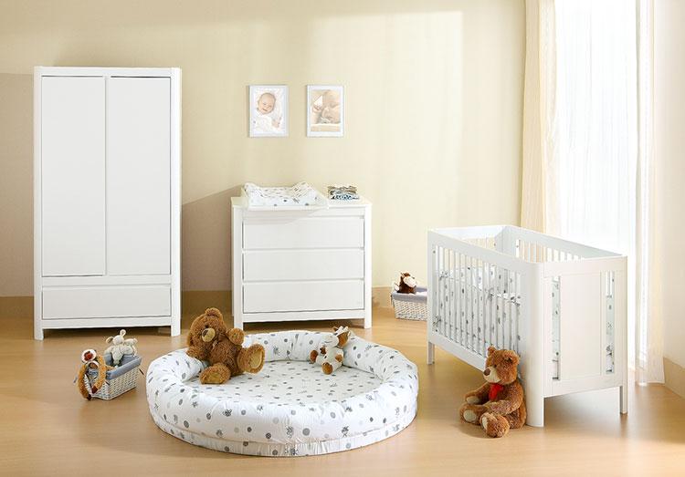 Modello di cameretta completa per neonati n.12