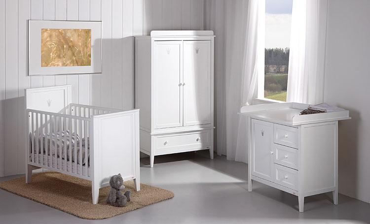 Modello di cameretta completa per neonati n.13