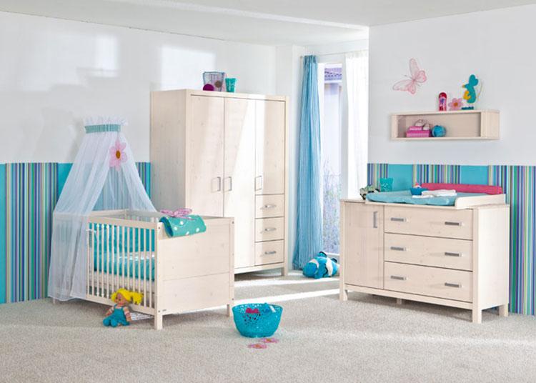 Modello di cameretta completa per neonati n.14