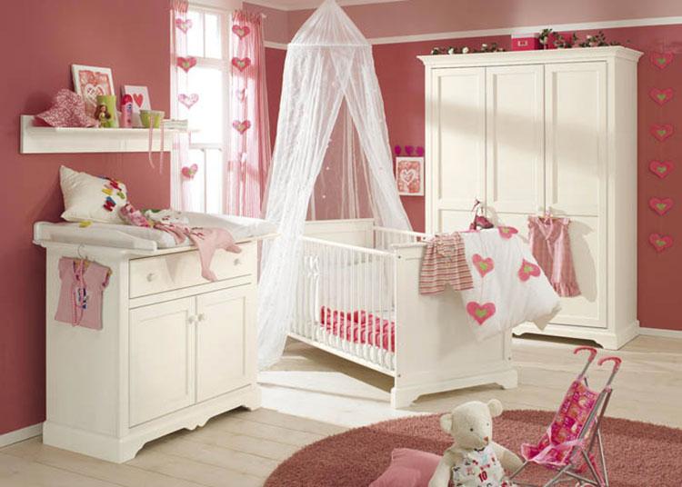 Modello di cameretta completa per neonati n.15