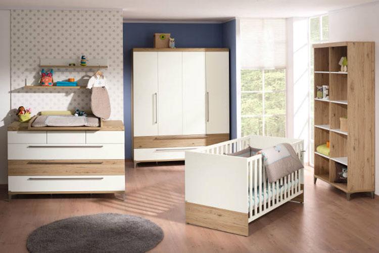 Modello di cameretta completa per neonati n.16