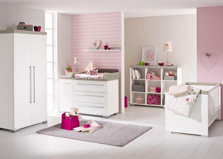 Modello di cameretta completa per neonati n.17