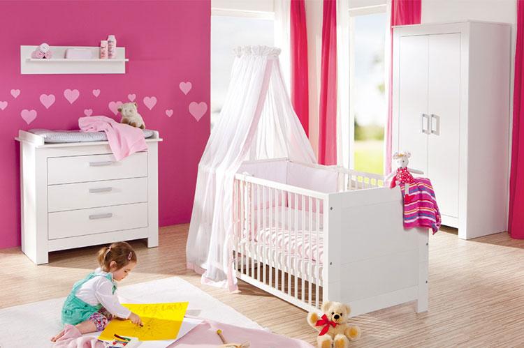 Modello di cameretta completa per neonati n.18