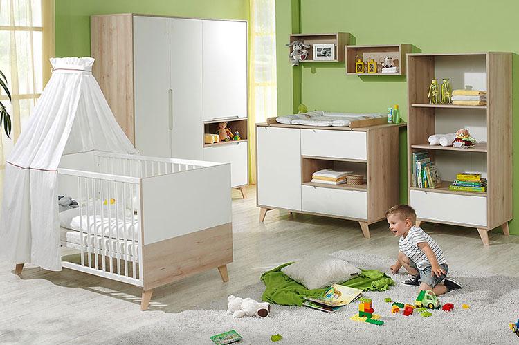 Modello di cameretta completa per neonati n.19
