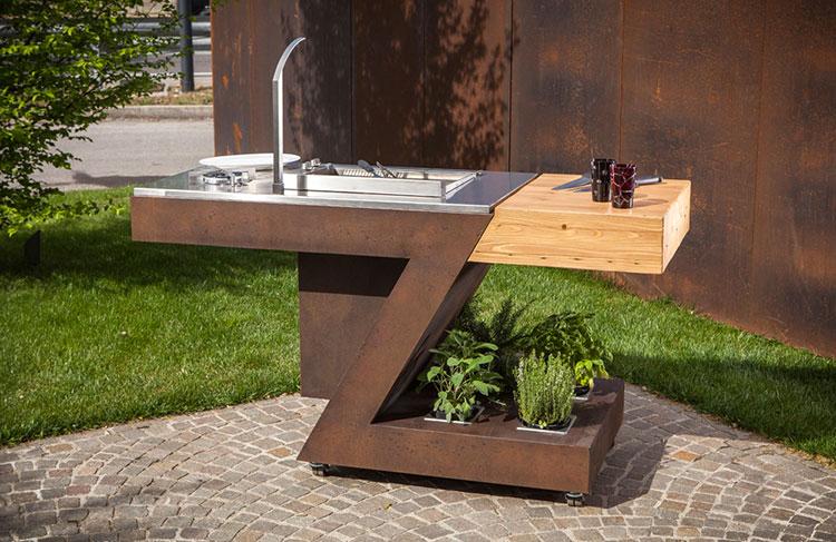 20 cucine da esterno dal design moderno - Cucina da esterno ...