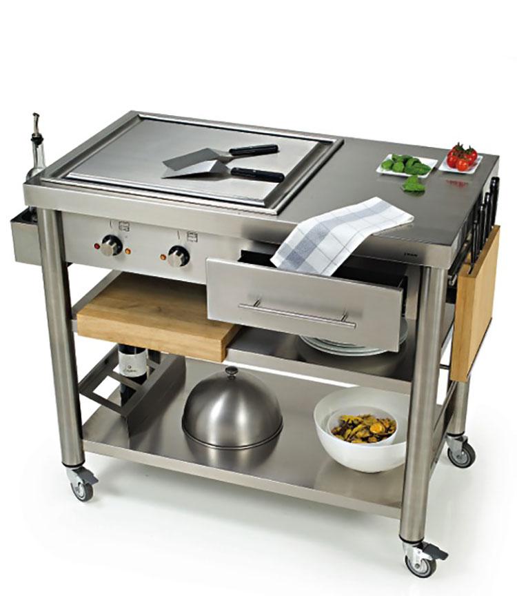 Cucina da esterno dal design moderno e funzionale n.06