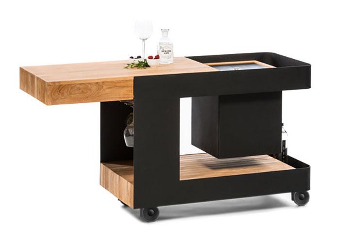 Cucina da esterno dal design moderno e funzionale n.18