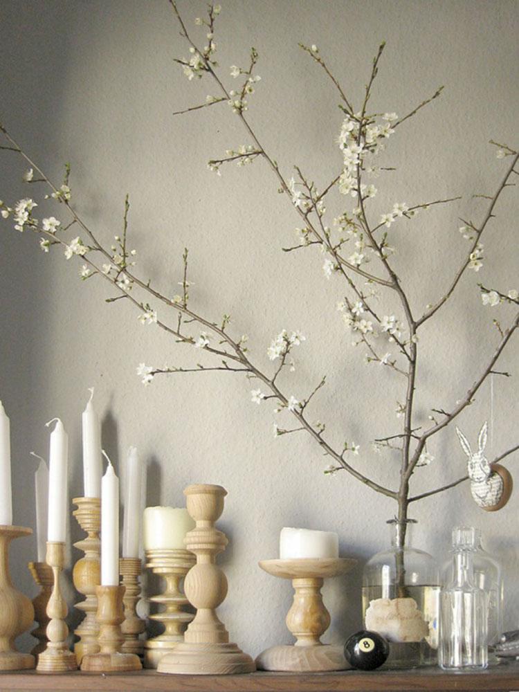 Idee per decorazioni pasquali per casa e negozi n.10