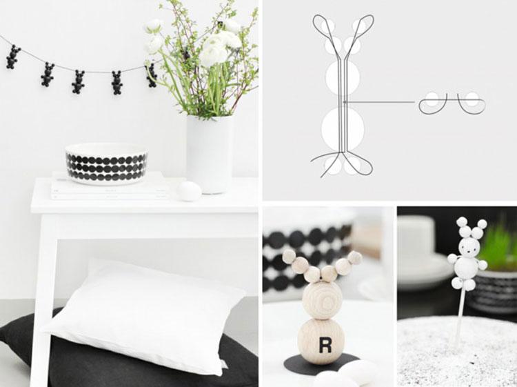 Idee per decorazioni pasquali per casa e negozi n.11