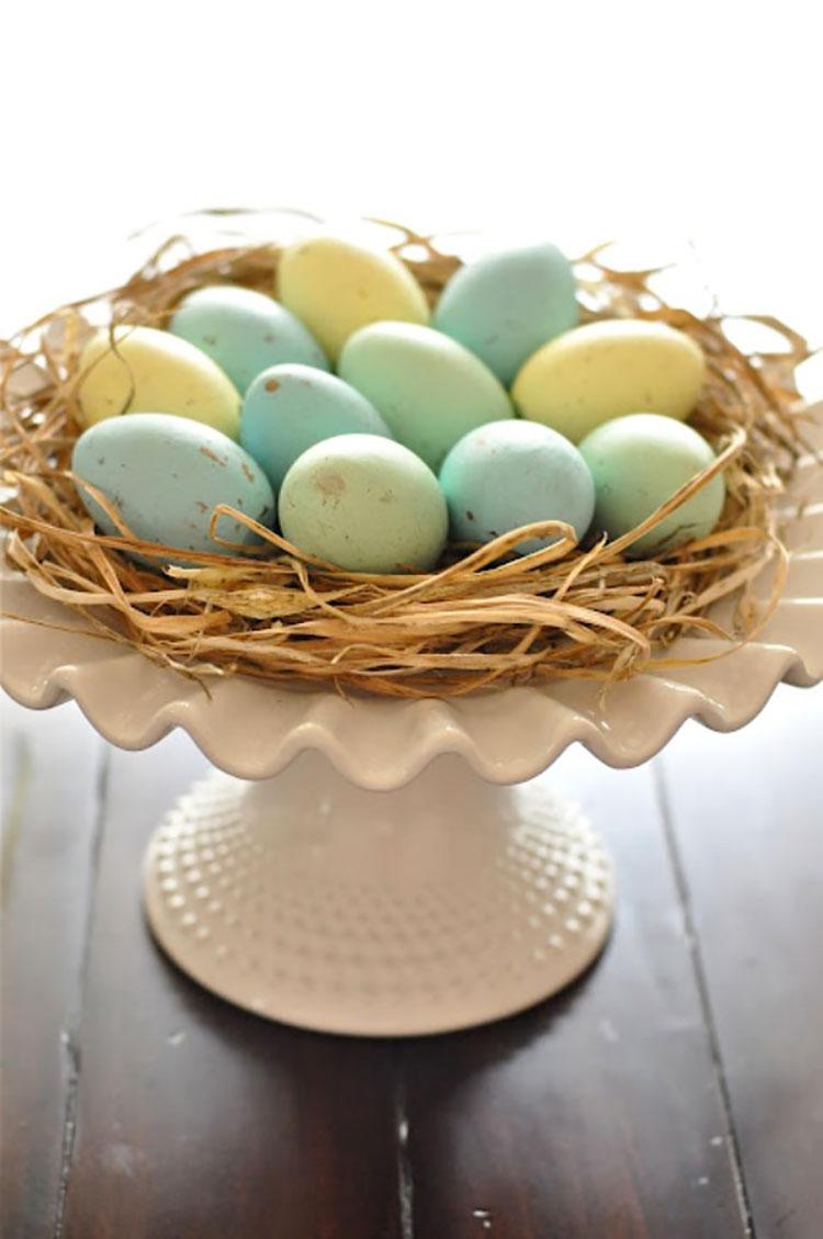 Idea per decorare la tavola di Pasqua n.03