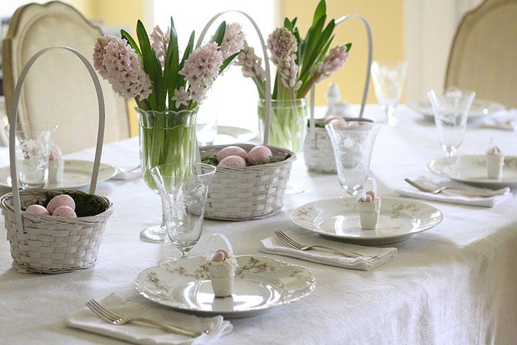 Idea per decorare la tavola di Pasqua n.06
