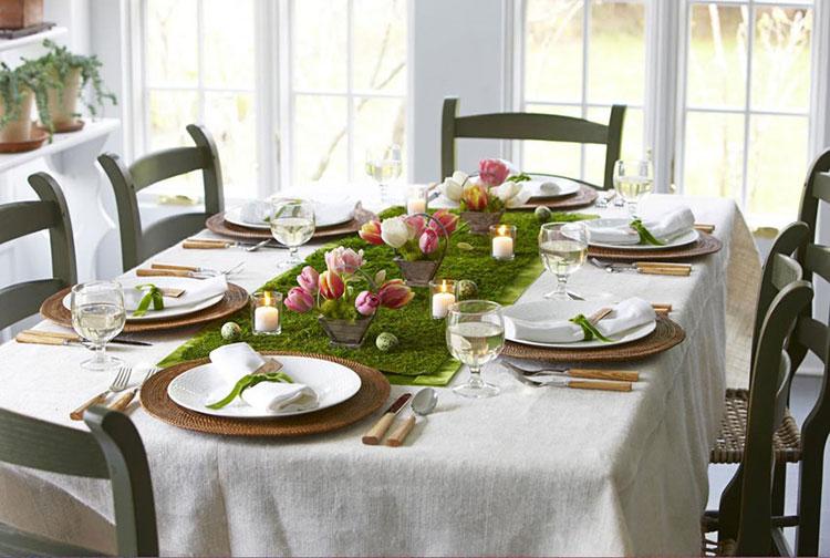 Idea per decorare la tavola di Pasqua n.07