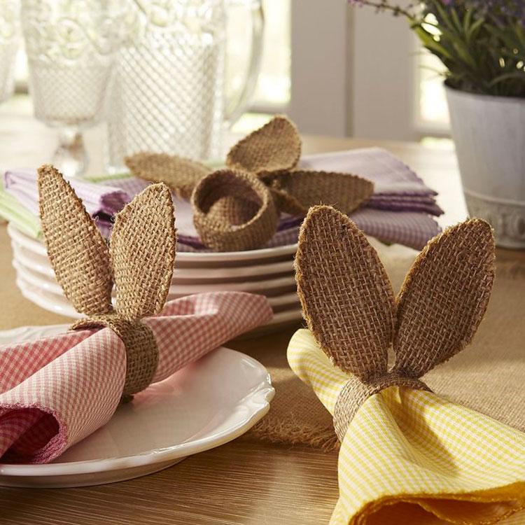 Idea per decorare la tavola di Pasqua n.10