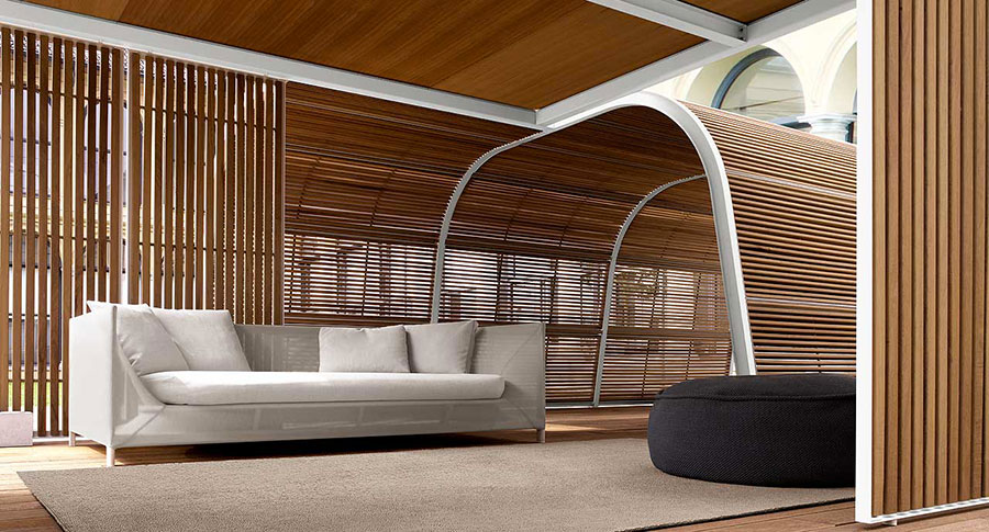 Modello di gazebo in legno di Paola Lenti n.2
