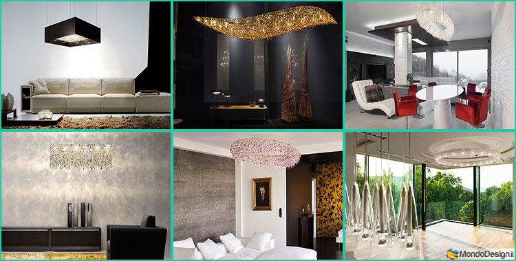 Lampadari in Cristallo Manooi dal Design Moderno