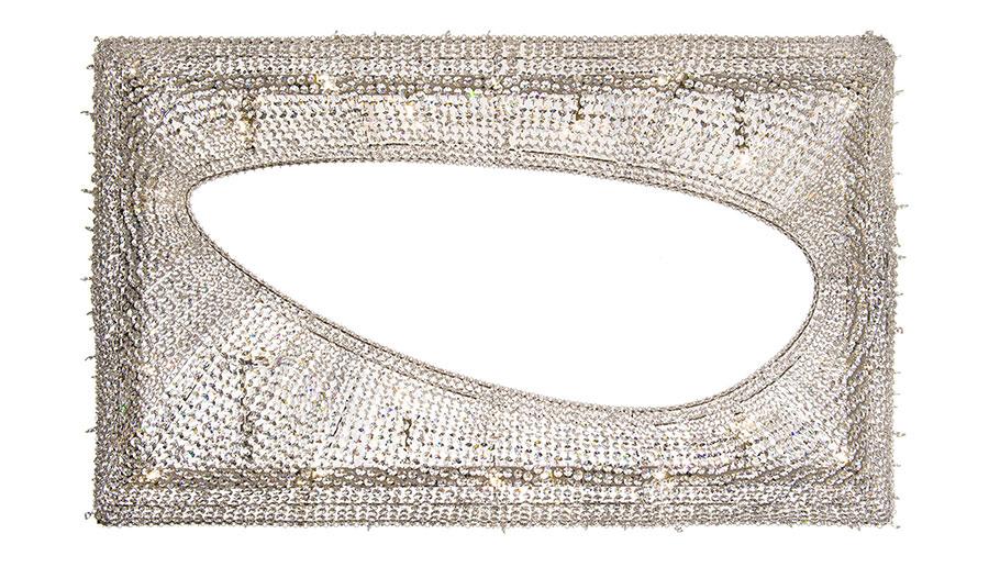 Lampadario in cristallo Monooi modello Artikoi n.03
