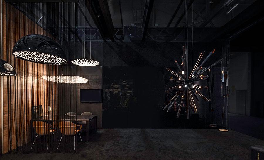 Lampadario in cristallo Monooi modello Cielo n.01