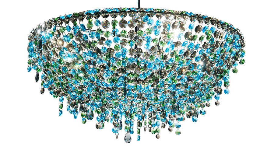 Lampadario in cristallo Monooi modello Iceberg n.03