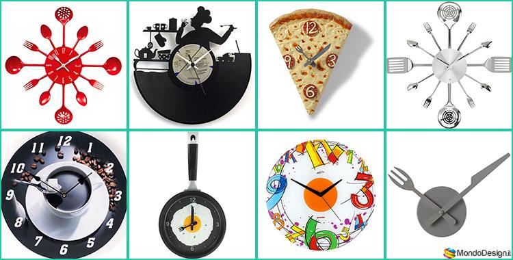 25 orologi da parete di design in stile moderno e minimal for Orologi a parete da cucina