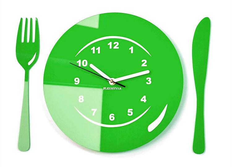 Orologio da cucina dal design moderno n.17