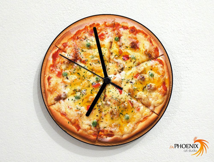 Orologio da cucina dal design moderno n.20