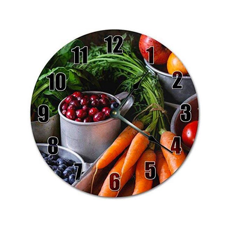 Orologio da cucina da parete dal design moderno n.32
