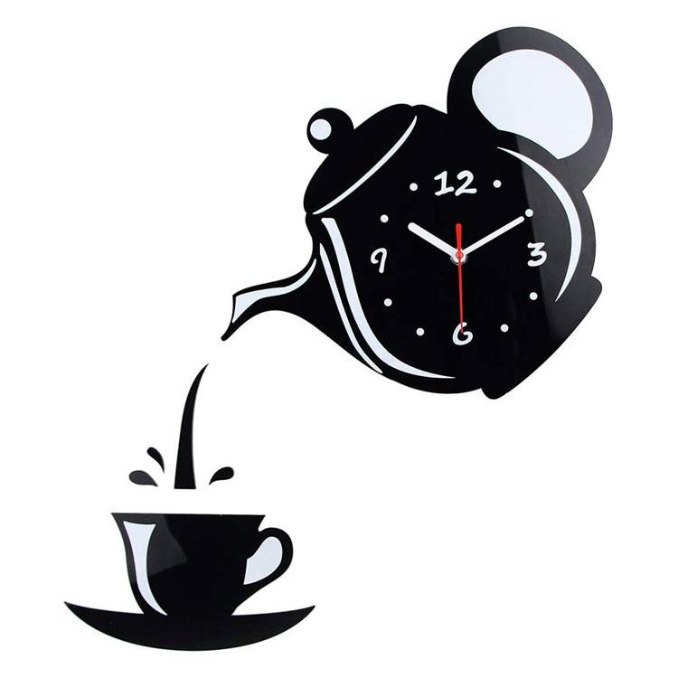 Orologio da cucina da parete dal design moderno n.34