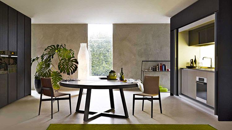Idee per tavoli per una sala da pranzo moderna