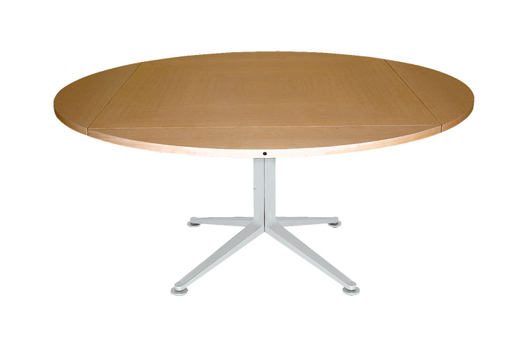 Modello di tavolo rotondo allungabile moderno n.03