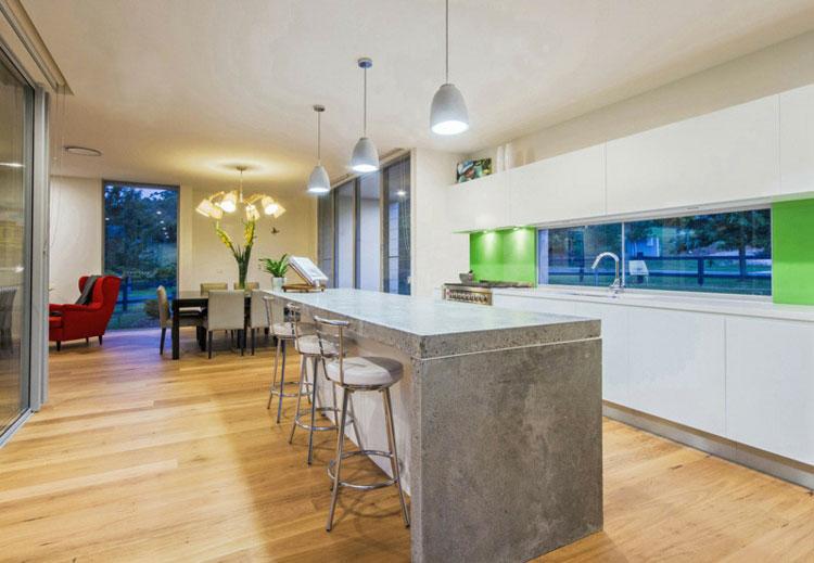Top per cucine in cemento 20 piani di lavoro dal design for Piani di hot house