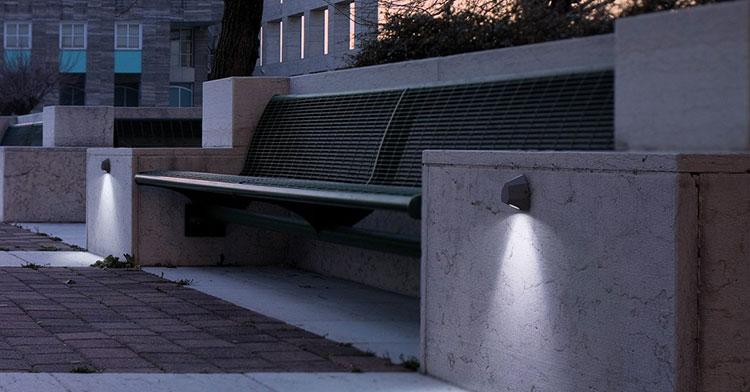 Applique da esterno dal design moderno n.08