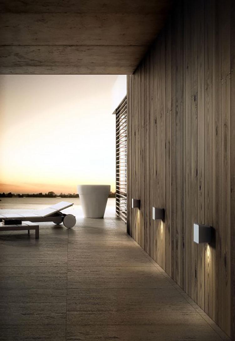 25 Modelli di Applique da Esterno a LED dal Design Moderno ...