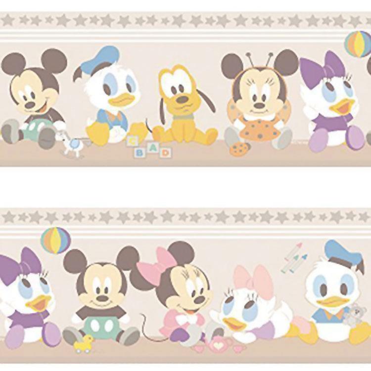 Carta da parati Disney con Topolino e i suoi amici n.06