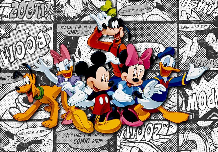 Carta da parati Disney con Topolino e i suoi amici n.11