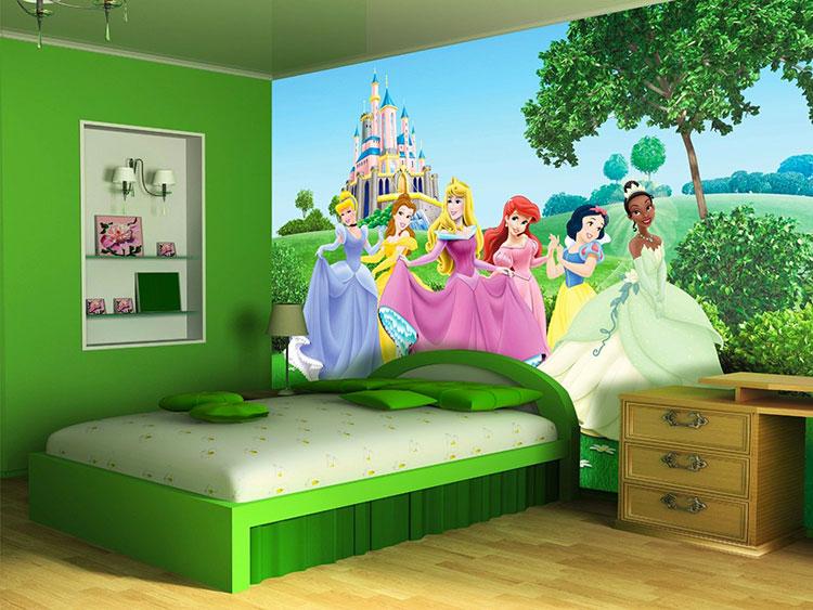Carta da parati delle principesse Disney n.03